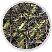 Difference Window Round Beach Towel