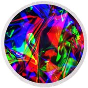 Digital Art-a11 Round Beach Towel