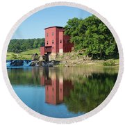 Dillard Mill At Dillard Mill State Round Beach Towel