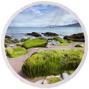 Dingle Coastline Round Beach Towel