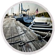 Dingy Round Beach Towel