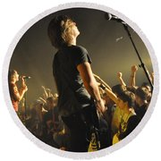 Disciple-group-0268 Round Beach Towel