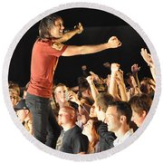 Disciple-kevin-8783 Round Beach Towel