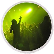 Disciple-kevin-9551 Round Beach Towel