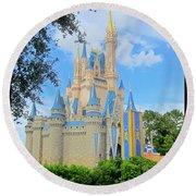 Disney Castle Round Beach Towel