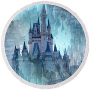 Disney Dreams Round Beach Towel