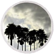 Disney's Epcot Palm Trees Round Beach Towel