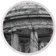 District Of Columbia World War I Memorial Round Beach Towel