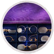 Doctor - Optometrist - Many Styles To Choose From  Round Beach Towel