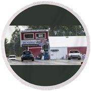 Dodge Omni Glh Vs Rwd Dodge Shadow - 06 Round Beach Towel