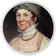 Dolley Payne Todd Madison (1768-1849) Round Beach Towel