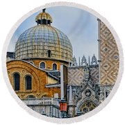 Dome Round Beach Towel