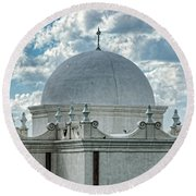 Dome Of San Xavier - Tucson Az Round Beach Towel