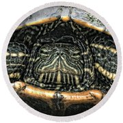 Don't Rock My House - Turtle Round Beach Towel