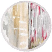 Door Series - Door 1 Round Beach Towel