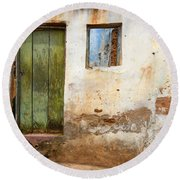 Doors And Windows Lencois Brazil 4 Round Beach Towel