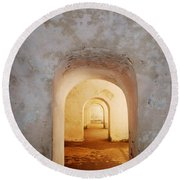 Doorways Round Beach Towel