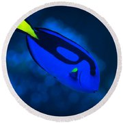 Dory Round Beach Towel