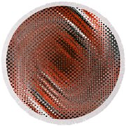 Dotty Round Beach Towel
