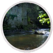 Dowlin Forge Park - Brandywine Creek Round Beach Towel