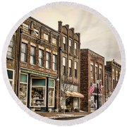 Downtown Jonesborough Round Beach Towel