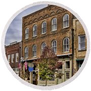 Dowtown General Store Round Beach Towel