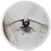 Dragonfly Round Beach Towel