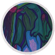 Dream In Color 1 By Jrr Round Beach Towel