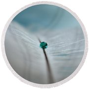 Dreams Gone By Round Beach Towel