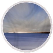Drifting Home Again Round Beach Towel