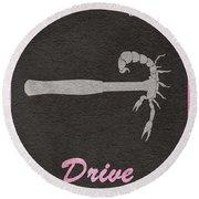 Drive Round Beach Towel