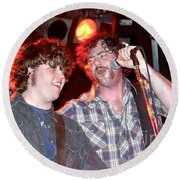 Drive By Truckers Round Beach Towel
