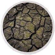 Drought Round Beach Towel