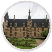 Ducal Palace Nevers Round Beach Towel