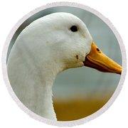 Duck Head Round Beach Towel