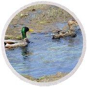 Ducks Unlimited Round Beach Towel