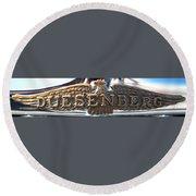 Duesenberg  Round Beach Towel