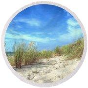 Dunas Round Beach Towel