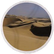 Dune Riders Round Beach Towel