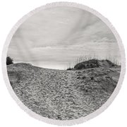 Dune Trail Round Beach Towel