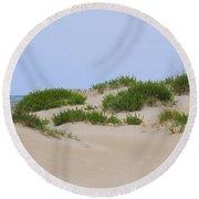 Dunes And Grasses 6 Round Beach Towel