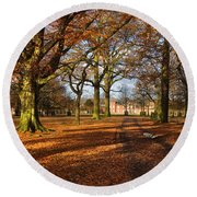 Dunham Massey Round Beach Towel