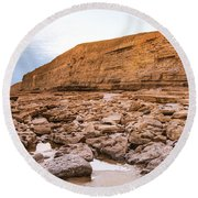 Dunraven Bay Southerndown Round Beach Towel