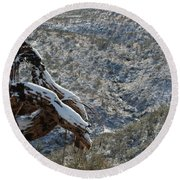 Dusted Round Beach Towel