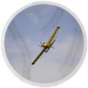 Dusting The Moon 9999 Round Beach Towel
