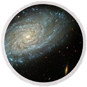 Dusty Galaxy Round Beach Towel