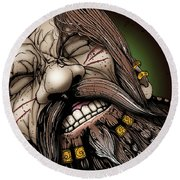 Dwarf Prisoner Round Beach Towel