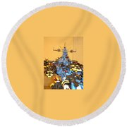 Dynonochus Maincastle Shot Round Beach Towel