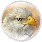 Eagle6 Round Beach Towel