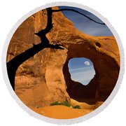 Ear Of The Wind Round Beach Towel by Susan Candelario